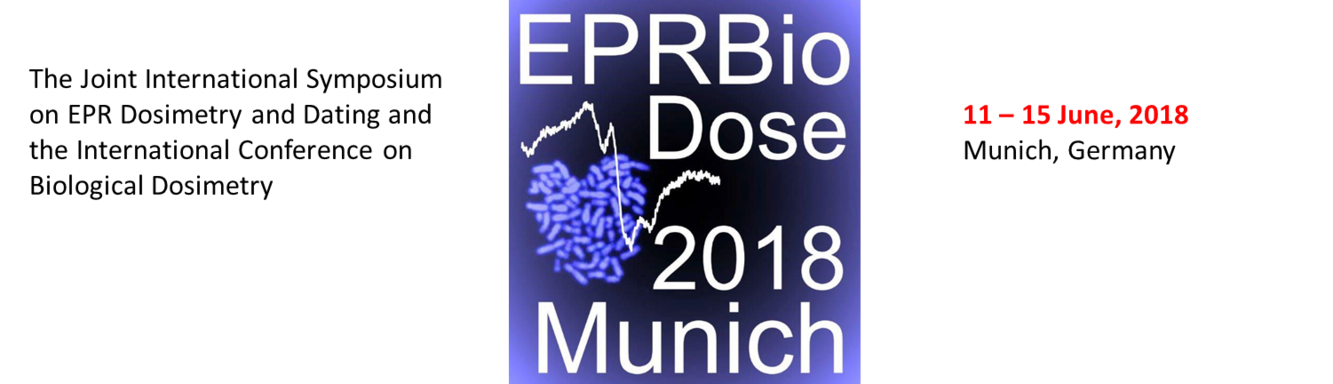 EPRBiodose 2018 - Conference, 14-18 May 2018